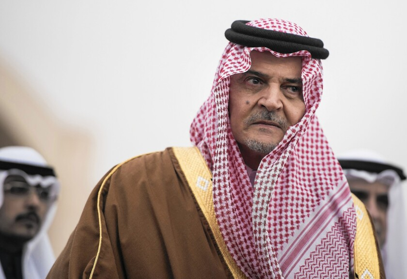 Prince Saud al Faisal served as Saudi Arabia's foreign minister for 40 years and represented the country through periods of turmoil throughout the region.
