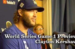 Clayton Kershaw on his main World Series goal