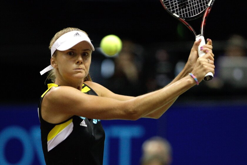 Singles play by Daniela Hantuchova (shown in a match last week) helped the Aviators defeat the Washington Kastles on Monday.