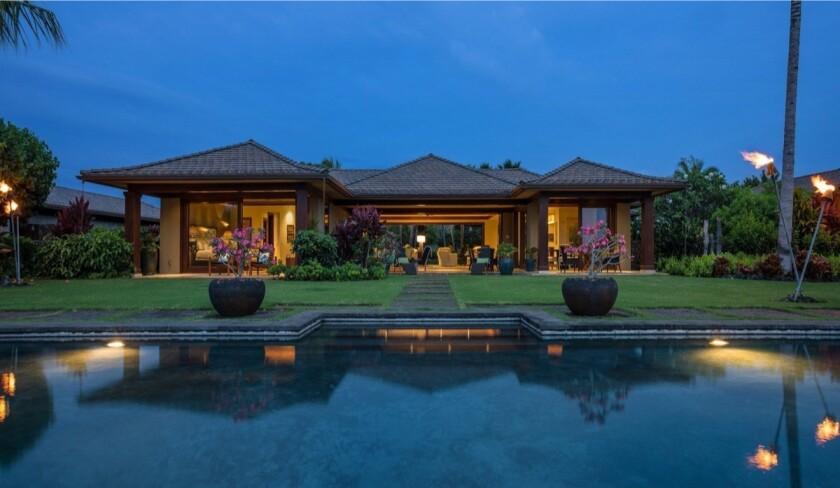 Ed O'Neill's Hawaii home
