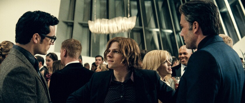 A 'super-scary' Jesse Eisenberg? Meet the new Lex Luthor (with hair) in 'Batman v Superman'