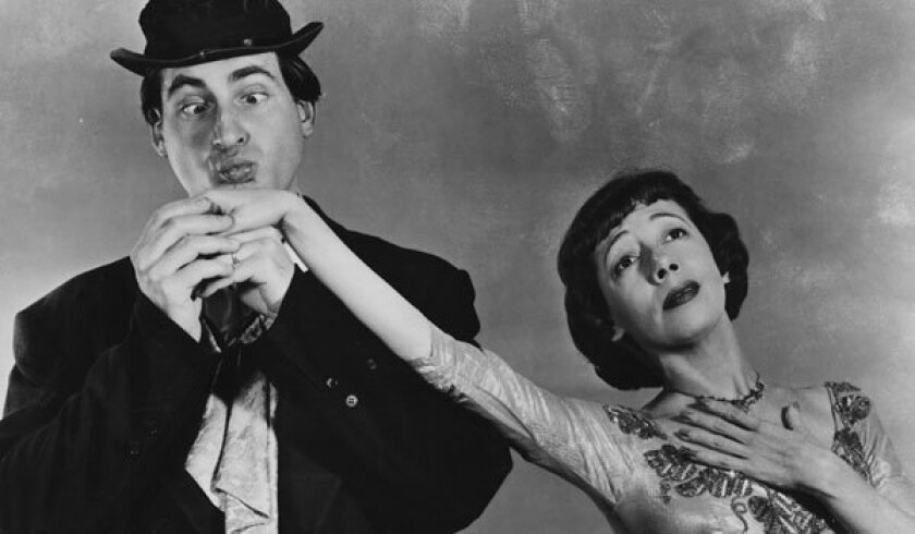 """Sid Caesar and Imogene Coca starred in """"Your Show of Shows."""""""
