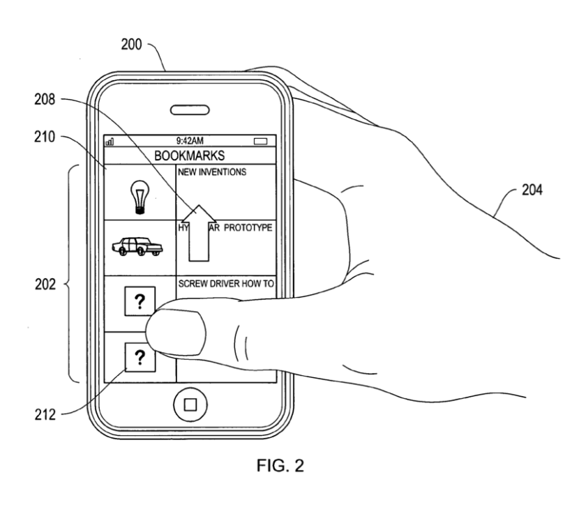 An Apple patent granted Tuesday details technology that would enable devices to detect and recognize users' faces.