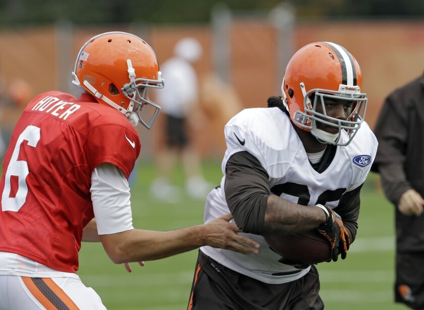 Trent Richardson, Brian Hoyer moves: Are the Browns giving up on '13?