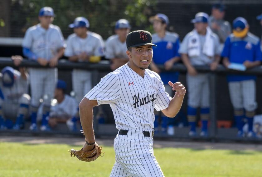 Photo Gallery: Huntington Beach vs. La Puente Bishop Amata in baseball