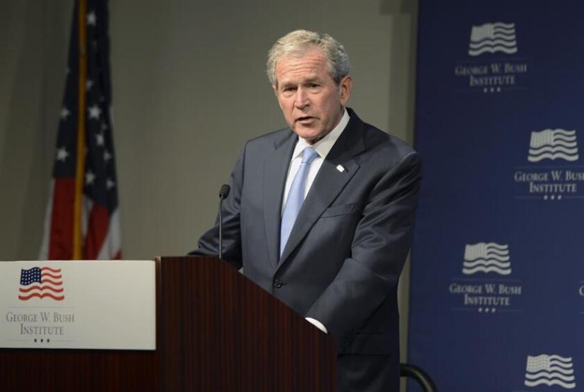 El expresidente de Estados Unidos, George W. Bush. EFE/Archivo