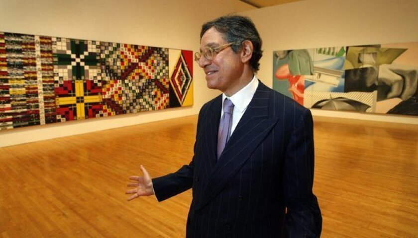 """I believe that an art exhibition can be engaging, fun and deeply intellectually satisfying and serious,"" says Jeffrey Deitch, director of the Museum of Contemporary Art."