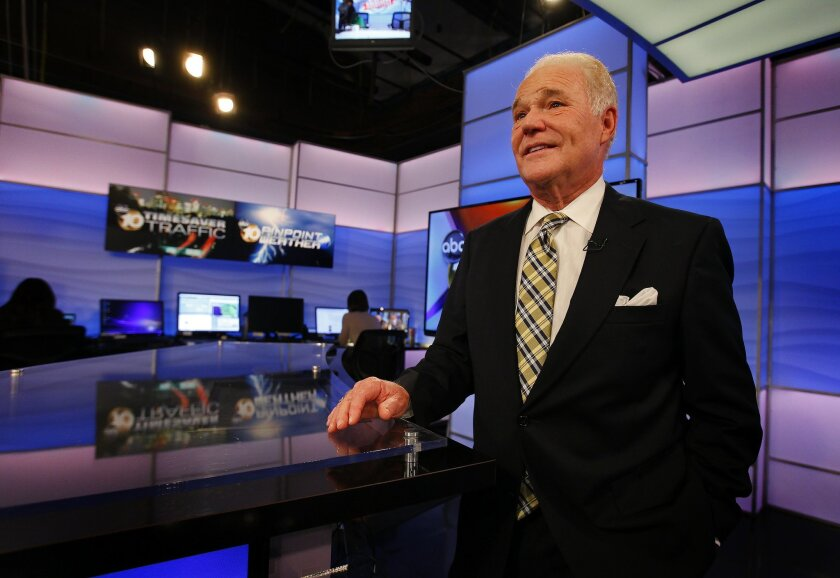 News anchor Bill Griffith is retiring from KGTV/Channel 10 after 39 years.
