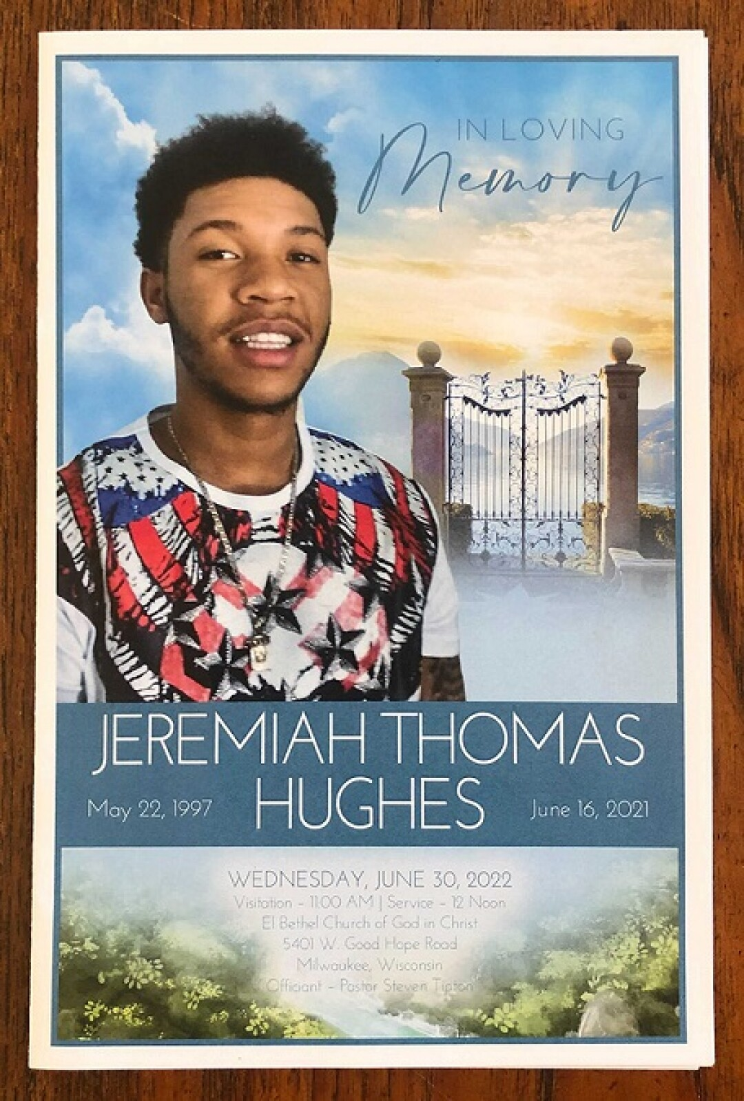 Jeremiah Hughes' obituary