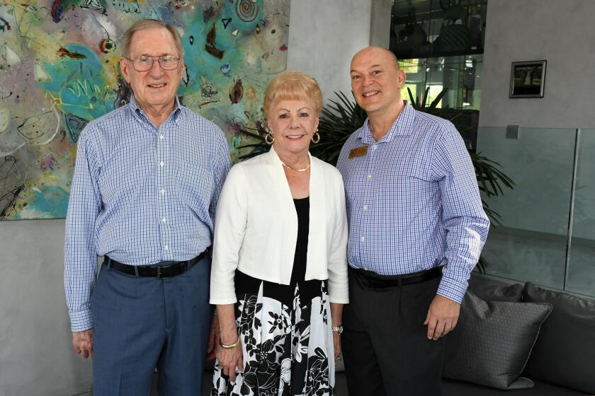 David and Jean Laing, Bill Kerlin (NCRT managing director)