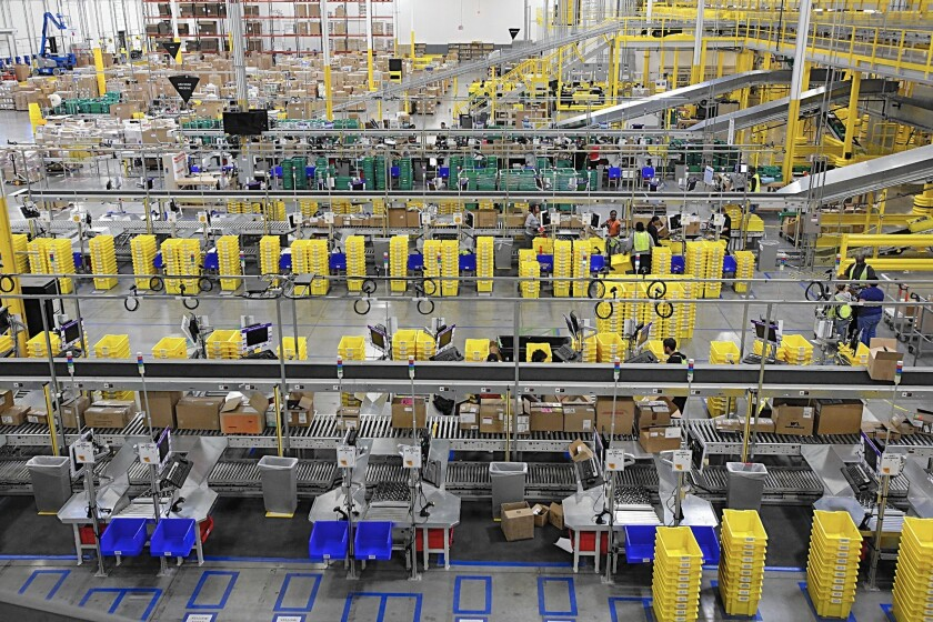 Amazon.com opened its second major fulfillment center in Moreno Valley earlier this year. The company is planning to build another facility in Redlands.