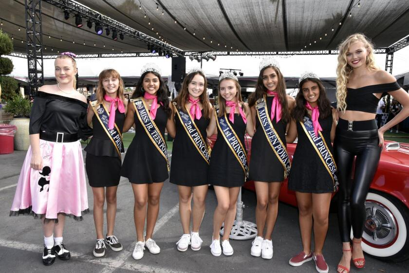 Miss Teen Poway and her court were in attendance