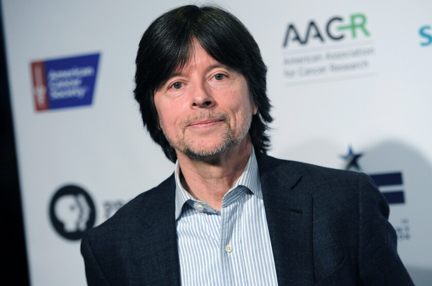 "Documentary filmmaker Ken Burns attends a PBS screening of his film ""Cancer: The Emperor of All Maladies"" in New York. Burns has been named grand marshal of the 2015 Rose Parade."