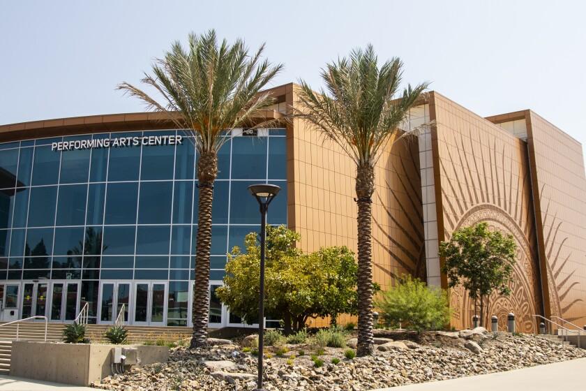 El Centro de Artes Escénicas del Southwestern College en Chula Vista.