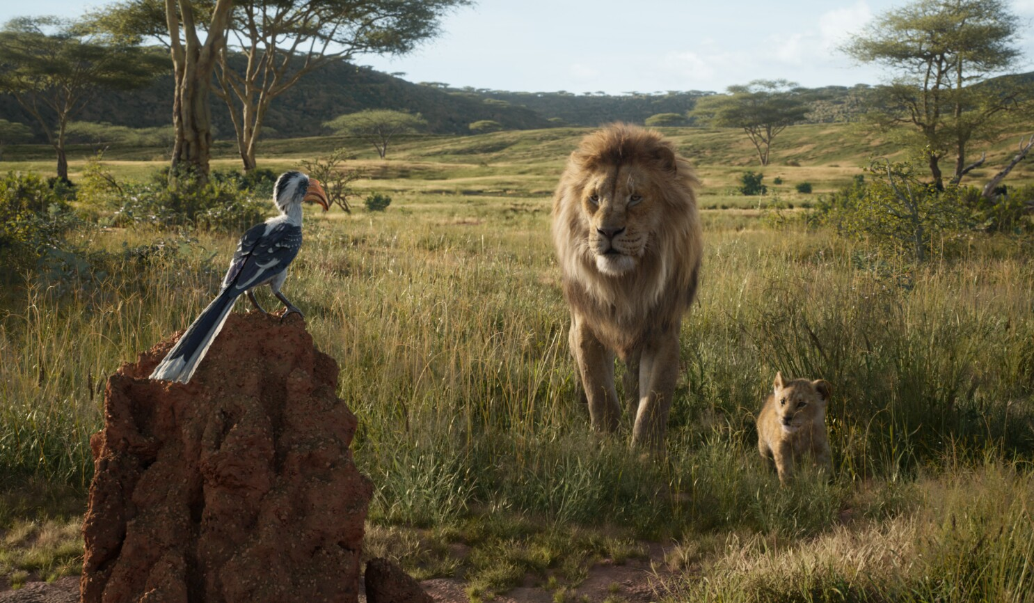 The Lion King Is It Animated Or Live Action It S Complicated Los Angeles Times