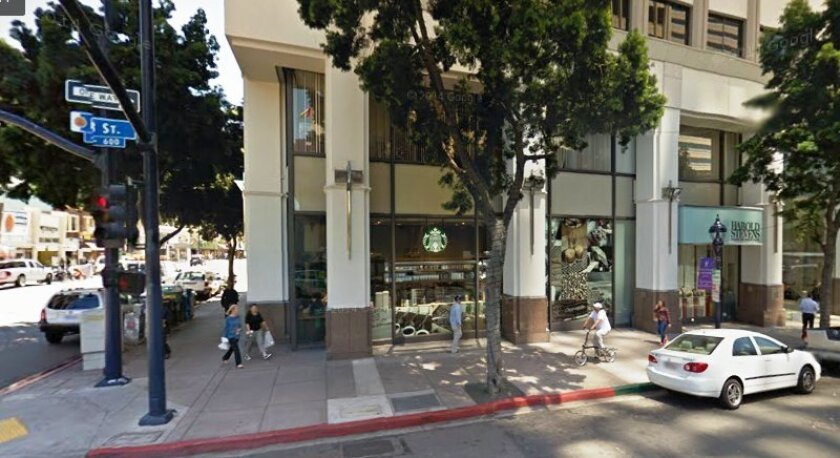 The Starbucks shop at Sixth Avenue and B Street in downtown San Diego typifies the move by retailers to appeal to urban customers after having concentrated for years on suburban locations.