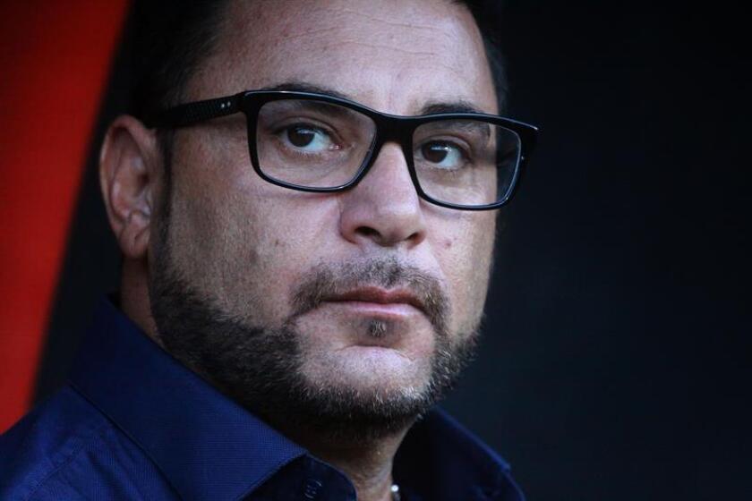 El director técnico de Monterrey, Antonio Mohamed. EFE/Archivo