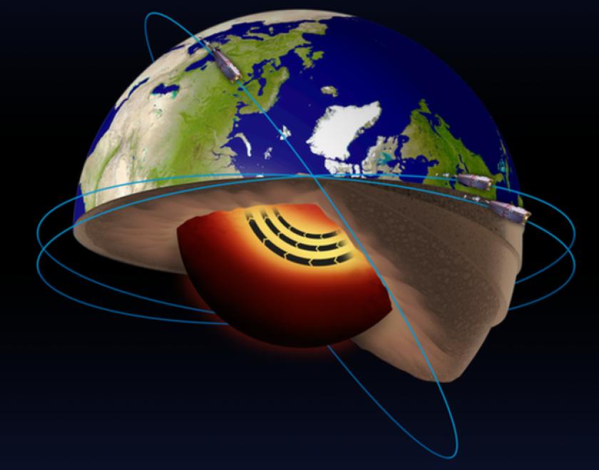 Se trata de un río de hierro líquido que se esconde en el núcleo externo de la Tierra y, tal y como fue anunciado en la conferencia anual de la Unión Geofísica de EE.UU. en San Francisco, California, influye y altera el comportamiento del campo magnético de nuestro planeta.