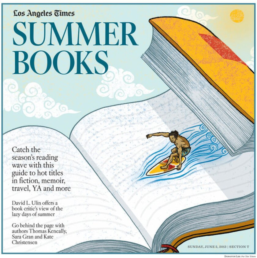 Summer books in the Sunday Los Angeles Times.
