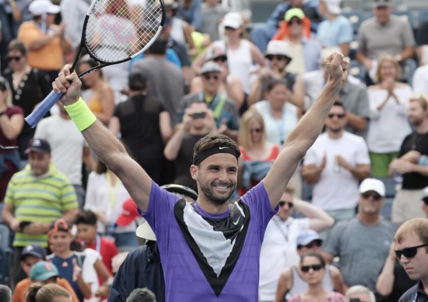 Dimitrov vence a De Miñaur y jugará contra Federer