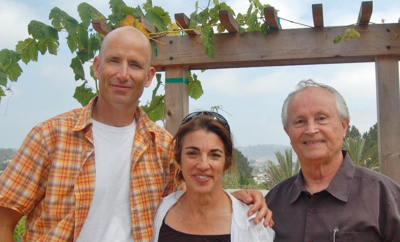 Scott and Melissa Fischel (hosts), George Willis (SDDT co-founder)