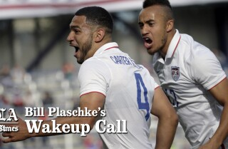 Bill Plaschke's Wakeup Call: U.S. vs Mexico soccer is most anticipated event