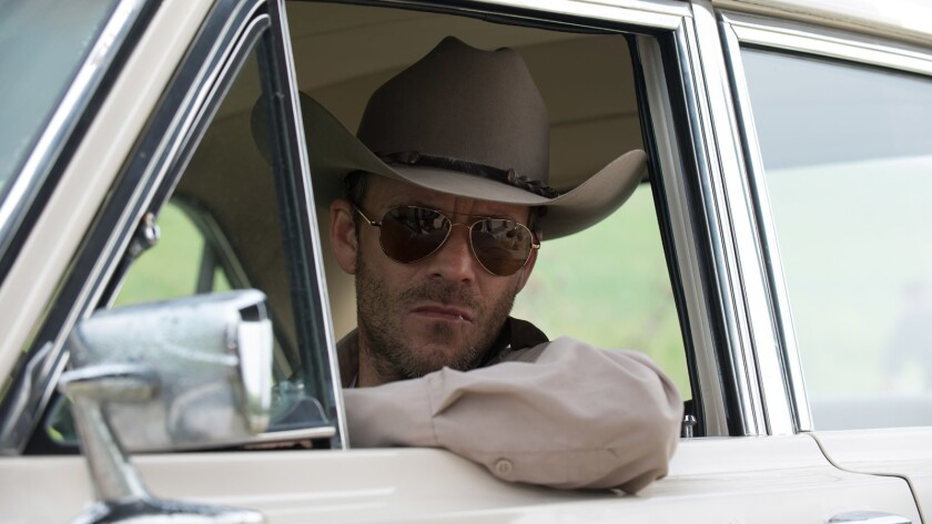 """Stephen Dorff in a scene from the movie """"Leatherface ."""""""