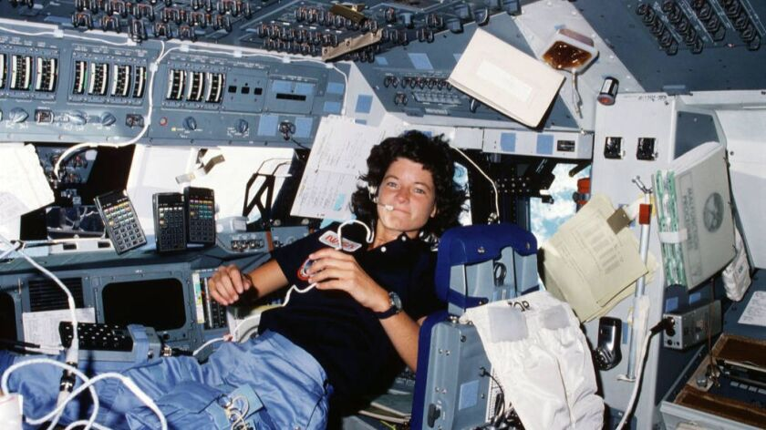 Sally Ride, the first American woman in space, co-founded the company Sally Ride Science with her life partner, Tam O'Shaughnessy.