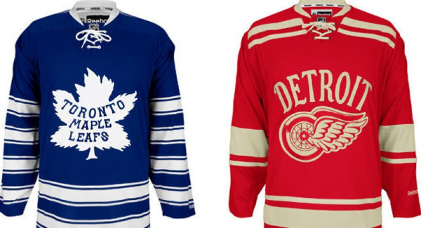 best authentic 0be14 15519 Winter Classic 2014 going retro with Maple Leafs, Red Wings ...
