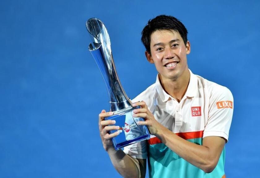 El japonés Kei Nishikori, segundo cabeza de serie, venció en la final de Brisbane al ruso Daniil Medvedev, cuarto favorito, por un reñido 6-4, 4-6 y 6-2 para romper la racha de nueve finales perdidas consecutivas después de conseguir el título de Memphis en febrero de 2016. EFE