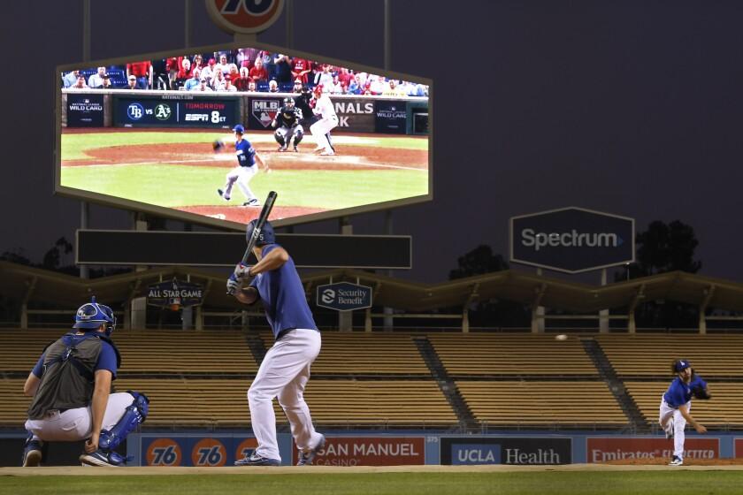 Dodgers Wait Baseball