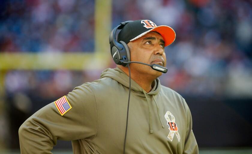 "Cincinnati Bengals Coach Marvin Lewis called Cleveland Browns quarterback Johnny Manziel a ""midget"" during a radio interview Monday night."