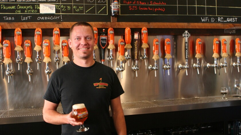 Andy Richards, bartender at Rip Current Brewing.