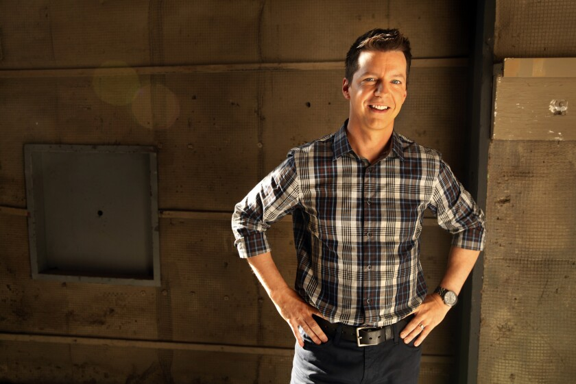 """Actor Sean Hayes will star in """"An Act of God"""" at the Ahmanson Theatre in L.A."""