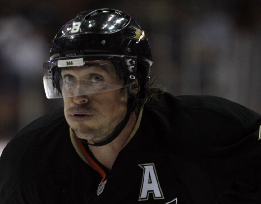 Teemu Selanne, 43, said that he feels energized enough to play on back-to-back game days if called upon.