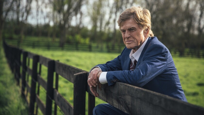 "Robert Redford in a scene from the film ""The Old Man & The Gun."""