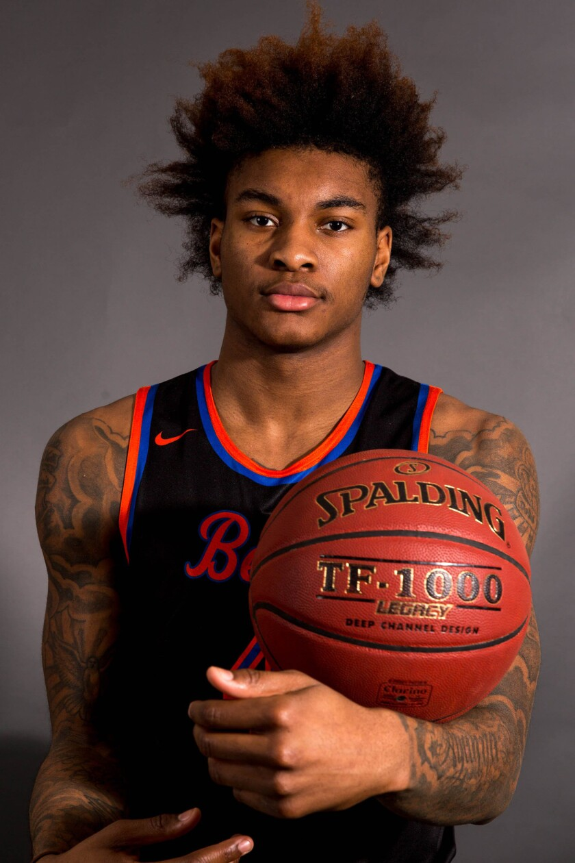 Rainier Beach senior Kevin Porter Jr. averaged 28 points and 12 rebounds per game this season and is