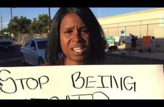 Anger over police shootings in South Los Angeles