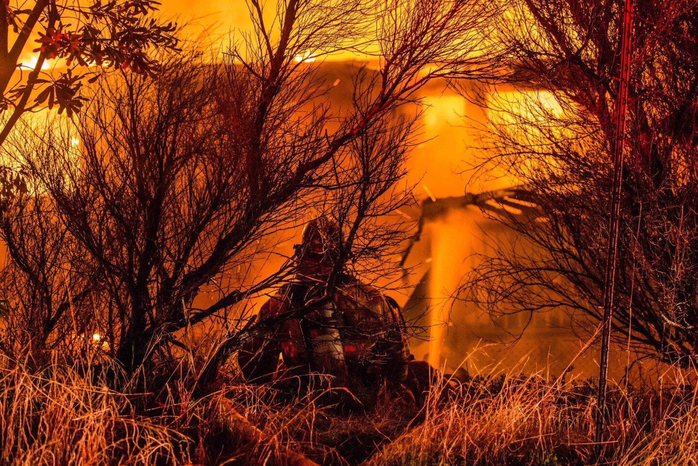 Valley Center fire destroys home