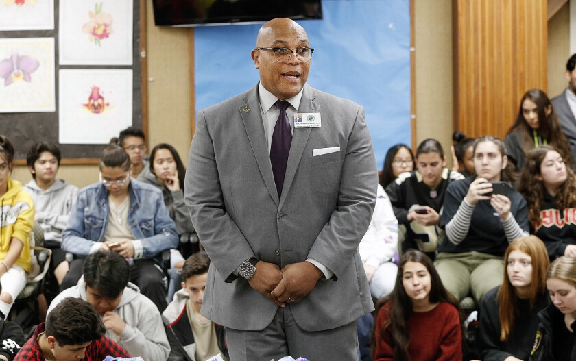 The Glendale Unified school board dismissed Supt. Winfred B. Roberson Jr., nearly four years after he became the district's first African American superintendent.(Raul Roa / Times Community News)