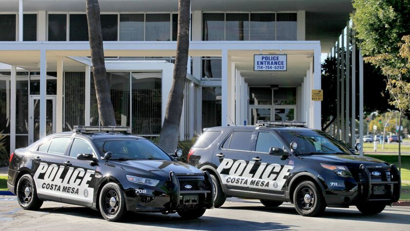 Costa Mesa police arrested a couple Thursday on suspicion of murder and conspiracy to commit a crime
