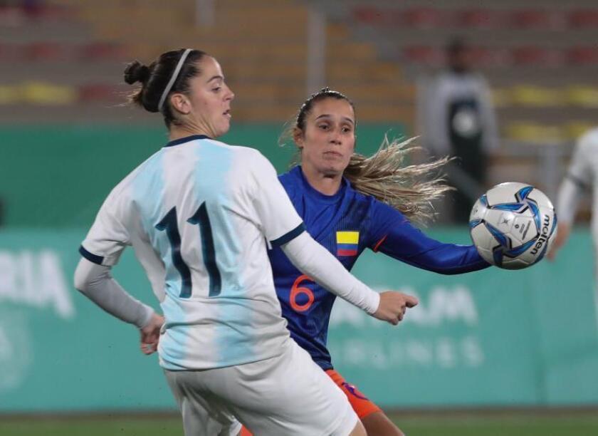 1-1 (6-7). Argentina sirve el oro a Colombia con un penalti lanzado fuera