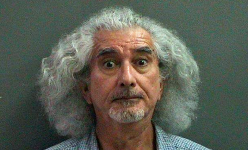 A booking photo of Robert Ruben Ornelas, 63, from his arrest in Orange County in 2013.