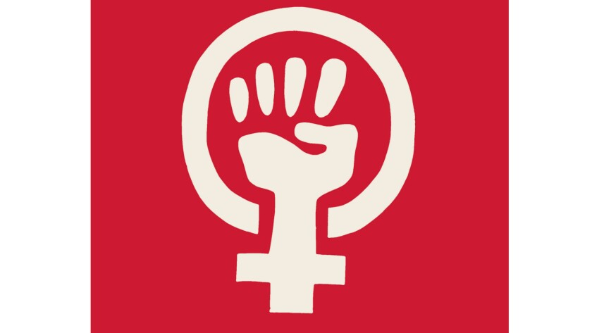 "Cover artwork from the book ""See Red Women's Workshop: Feminist Posters 1974-1990."""