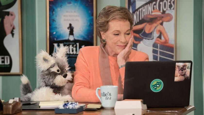 "Julie Andrews runs a performing arts program for kids in the Netflix series ""Julie's Greenroom."""
