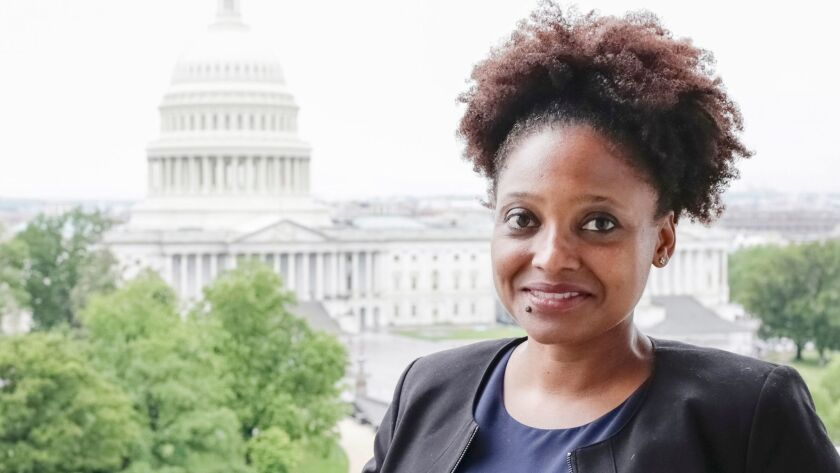 Poet Laureate Tracy K. Smith.