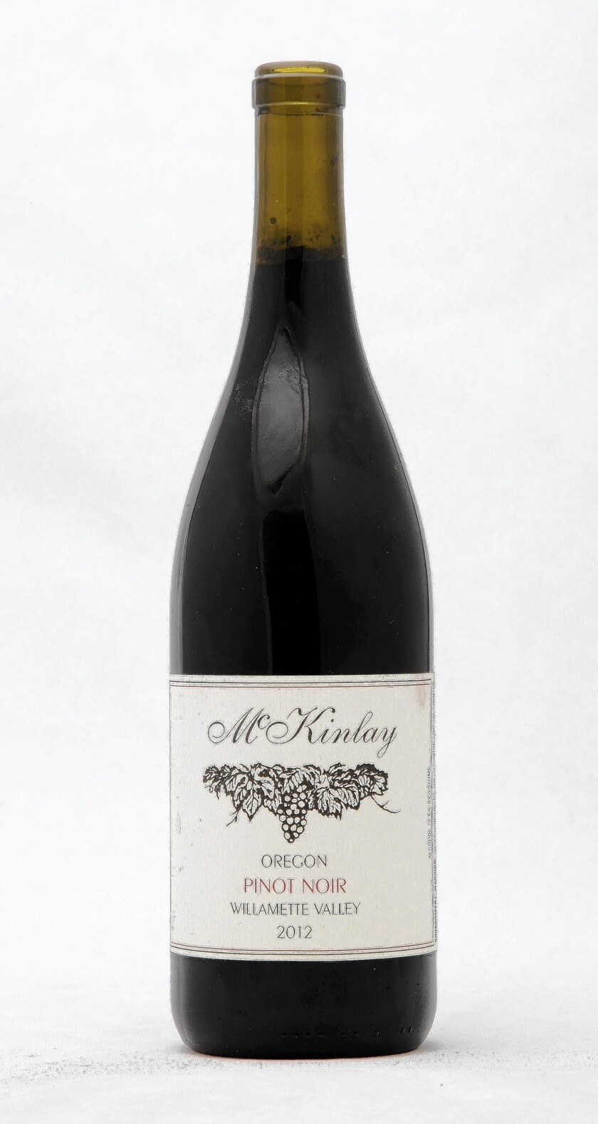 2012 McKinlay Pinot Noir