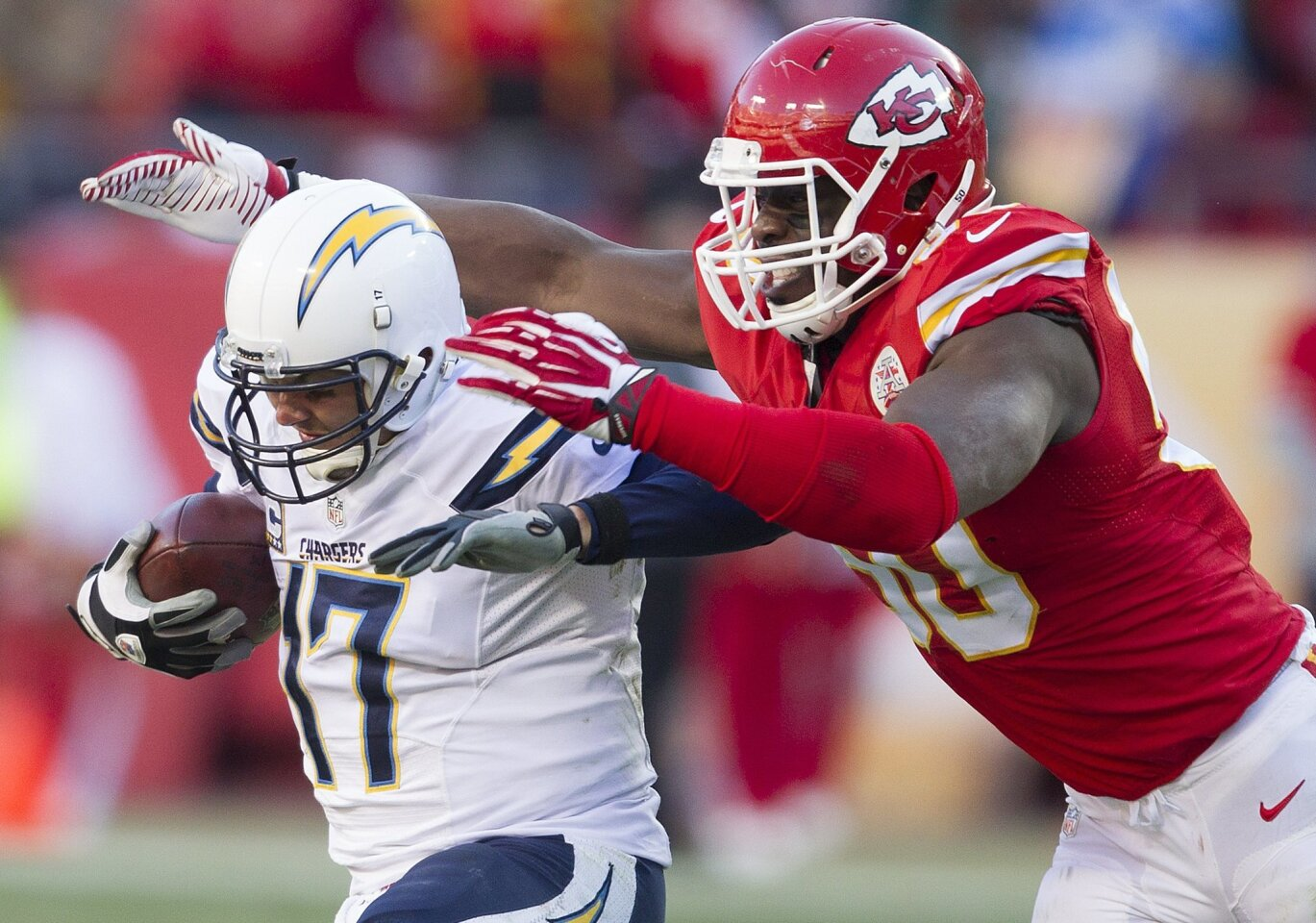 Chargers at Chiefs 12/28/2014