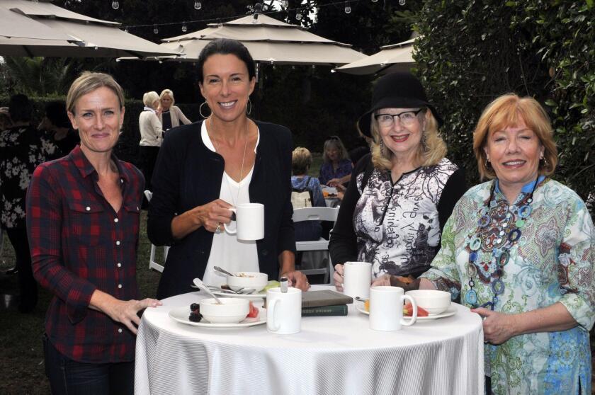 Wendy Van Gastel, Kara Chine, Ann Maioroff, Pam McKay