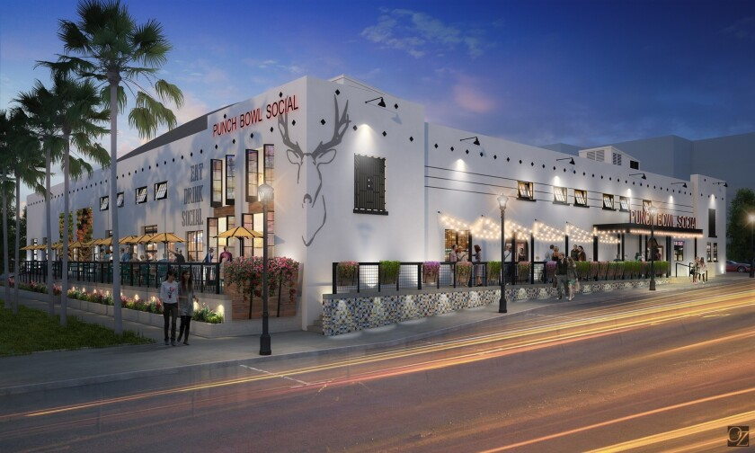 The historic Coliseum boxing arena is being converted into a Punch Bowl Social restaurant